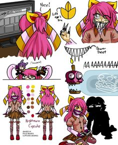 Nightmare Cupcake by Wolf-con-f