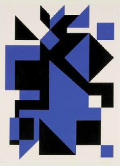 By Victor Vasarely (1906-1997), ca 1975, Geometric Composition, Color serigraph.