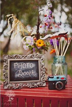 Photo booth...a must have for any event.