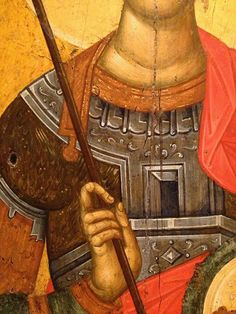 Saints And Soldiers, Byzantine Icons, Saint George, Orthodox Icons, Temples, Museums, Fresco, Style Icons, Detail