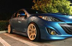 I cant decide my opinion on this color..  Celestial Blue // MazdaSpeed3