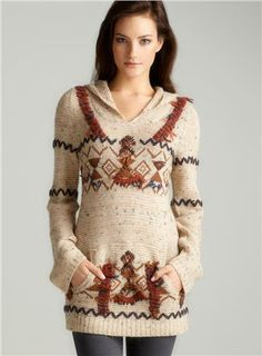 Arrrowhead Hoodie Sweater / free people - not crazy about the design but it looks *SO* comfortable!