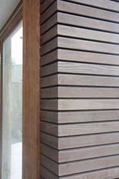 HOTwood essen gevelbekleding | Carpentier Hardwood Solutions