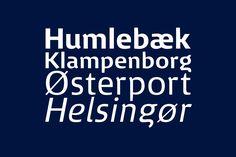 Distinctive lowercase 'g' from the Danish railways DSB | Kontrapunkt http://www.kontrapunkt.com/work/dsb