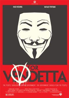 LCArts Film Lounge presents V for Vendetta poster.