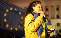 Ruslana Ukraine, Revolution, Russia, Pride, Bomber Jacket, Annex, War, Style
