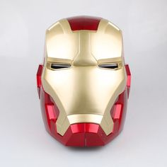 Iron Man Cosplay, Cosplay Helmet, Cosplay Costumes, Captain America Photos, Iron Man Hand, Led Gloves, Iron Man Action Figures, Iron Man Helmet, Gauntlet Gloves