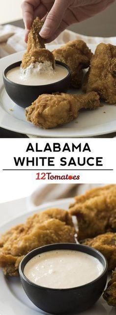 White BBQ Sauce More
