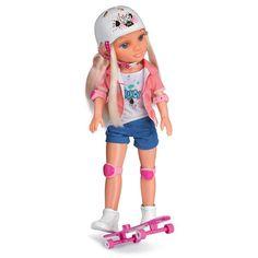 No hay nada más saludable que el deporte y el aire libre. Por eso a Nancy le encata y pasar el día haciendo skate. Caraterísticas de Nancy un día haciendo skate Te divertirás con esta Nancy . Le apasiona hacer skate al aire libre. Para ello viene equipada con su skate que trae una funda …