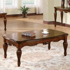 Update your living space with the traditional charm of the Acme Furniture Dreena Coffee Table . This coffee table boasts solid wood craftsmanship and. Cherry Coffee Table, Unique Coffee Table, Coffee Table With Storage, Coffee Tables, Acme Furniture, Living Room Furniture, Center Table Living Room, Coffee Table Wayfair, Extendable Dining Table