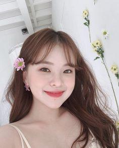 Pin on Cute Korean Girl, Asian Girl, Pretty Girls, Cute Girls, Ulzzang Girl, My Girl, Makeup, Face, Clovers