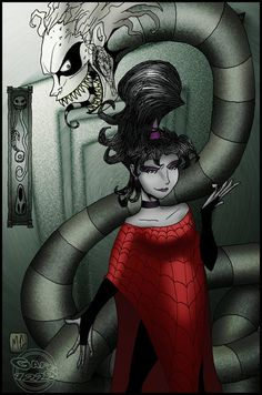 Beetlejuice and Lydia. Totally going as her for Halloween this year. Beetlejuice Characters, Beetlejuice Cartoon, Lydia Beetlejuice, Tim Burton Characters, Tim Burton Kunst, Tim Burton Art, Calling All The Monsters, Movie Decor