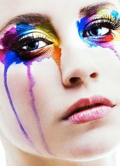 CHIC  BEAUTY l rainbow tears l color pop