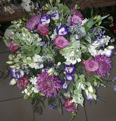 Floral arrangement made by Coral Carinus @ Coralee's Florist