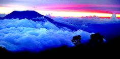 Far means clouds, close called fog,Singgalang Mt - indonesia.