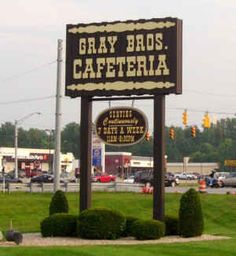 Gray Brother's Cafeteria: pie, pie & pie...did I say PIE? :)