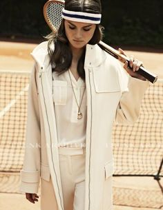 Look fabulous and play tennis.