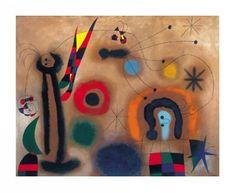 Joan Miro Ważka z czerwonymi skrzydełkami