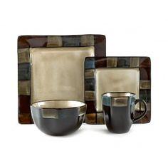 HABITAT BLUE DINNERWARE, 16 pc (service for 4) #tablebystokes Blue Dinnerware, Stores, Sugar Bowl, Bowl Set, Habitats, Mugs, Tableware, Canada, Dinner Room