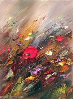 """""""Impulse """"--- oil on canvas, 30/40cm"""