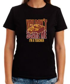 Dont Scare Me Women T-Shirts