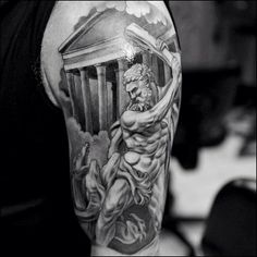 Greek mythology sleeve | Tattoos | Sleeve tattoos, Greek ...