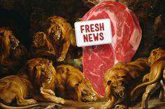 Máme pro Vás opravdu čerstvé informace, to co vidíte na obrázku je opravdu maso, aneb nechtěl bych být v jeho kůži! ☺    www.freshtrends.cz    ☆ I maso musí být čerstvé! ☆