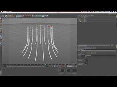 Spline Dynamics How to use in Cinema 4D Tutorials - YouTube