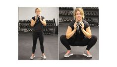 The goblet squat hold is literally holding a kettle bell in the bottom of a squat.  This is an isometric hold which is super effective at improving hip flexibility. You want to use a moderately heavy weight.  Flip the kettle bell upside down and hold it by the belly of the bell, or the part that would resemble a goblet.  Lower into the bottom of the squat with the elbows just inside the knees.  Use your elbows to drive your knees outward increasing the stretch on the adductors.  Hold this str...