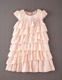 I've spotted this @BodenClothing Tiered Silk Ruffle Dress Peach Blossom