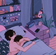 Sex and love Vkook Fanart, Fanart Bts, Yoonmin Fanart, Jungkook Fanart, Cute Couple Art, Anime Love Couple, Fan Art, Comic Style, Anime Tumblr