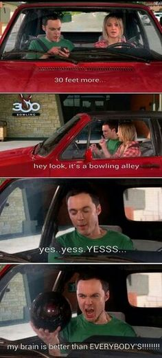 Sheldon Cooper is awesome!