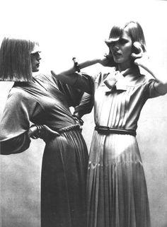 Super Seventies - Photo by Alex Chatelaine for Vogue Paris, 1973.