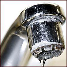 Todo sobre las marcas y manchas de cal en los electrodomésticos, baño, cocina y el hogar. como prevenirlas y limpiarlas.