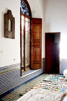 Nina & Mohamed's Textured, Patterned Paradise in Morocco