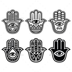 Hamsa, Hand of Fatima - symbol of strength and happiness isolated on white. Free art print of Hamsa hand, Hand of Fatima. Hamsa Hand Tattoo, Hand Tattoos, Tatoos, Small Hamsa Tattoo, Hamsa Tattoo Design, Hamsa Design, Script Tattoos, Flower Tattoos, Lotus Tat