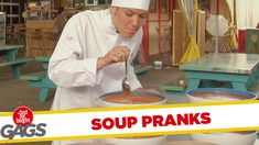 Soup Pranks - Best of Just For Laughs Gags , Just For Laughs Gags, Funny Gags, Laughing So Hard, Pranks, Soup, Entertaining, Humor, Limes, Laughter