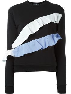 MSGM Ruffle Sweatshirt. #msgm #cloth #sweatshirt