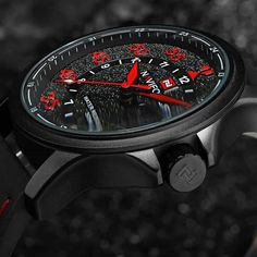 Cheap watch pin, Buy Quality wristwatch men directly from China wristwatch brand Suppliers: NAVIFORCE Brand Fashion Casual Watches Men's Waterproof Quartz Watch Men Date Clock Man Leather Army Military Wristwatch Casual Watches, Cool Watches, Men's Watches, Jewelry Watches, Cartier, Leather Box, Online Watch Store, Luxury Watches For Men, Fashion Watches