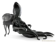 the octopus chair by maximo riera the first piece from his animal chair collection