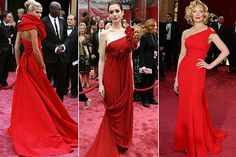 Red Carpet. Red Dress