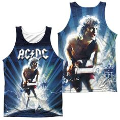 ACDC Lightning Adult Tank Top