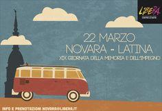 22 marzo 2013 - XIX Giornata della Memoria e dell'Impegno per le vittime innocenti delle mafie