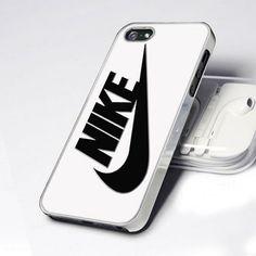 Nike Black Logo Brand Custom Case for IPhone 4 4S 5 5C 5S 6 Samsung Galaxy HTC