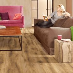 Living Room Laminate Flooring | Discount Flooring Depot Real Wood, Kitchen Flooring, Grey Laminate Flooring, Flooring, Furniture, Solid Wood, Laminate, Home Decor, Vintage