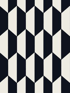 Buy Tile Wallpaper from the Geometric II Wallpaper Collection from Cole & Son, with an optical geometric design printed black and white. A simple and enduring motif. Geometric Patterns, Graphic Patterns, Geometric Designs, Tile Patterns, Textures Patterns, Print Patterns, Quilting Patterns, Tile Wallpaper, Black Wallpaper