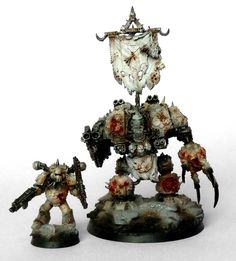 40k -  Chaos Lords of Decay Nurgle Dreadnought by ThirdEyeNuke
