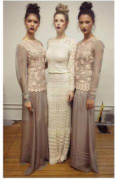 Carolina Portich crochet dresses