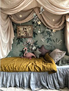 30 Cozy Bedroom Ideas That Will Make You Stay All Nights ⋆ All About Home Decor Dream Rooms, Dream Bedroom, Fairytale Bedroom, Fantasy Bedroom, Whimsical Bedroom, Magical Bedroom, Dark Romantic Bedroom, Artistic Bedroom, Room Ideas Bedroom