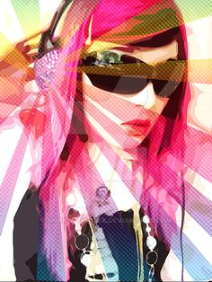 Pop Art Music by spirk-a-doodle